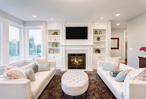 Orangeville realtors in living room
